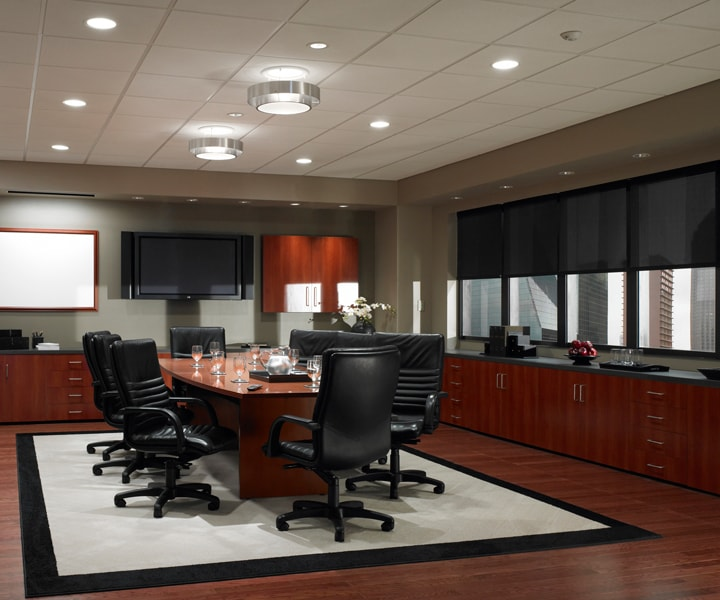 control office light with Lutron commercial automation Scottsdale AZ